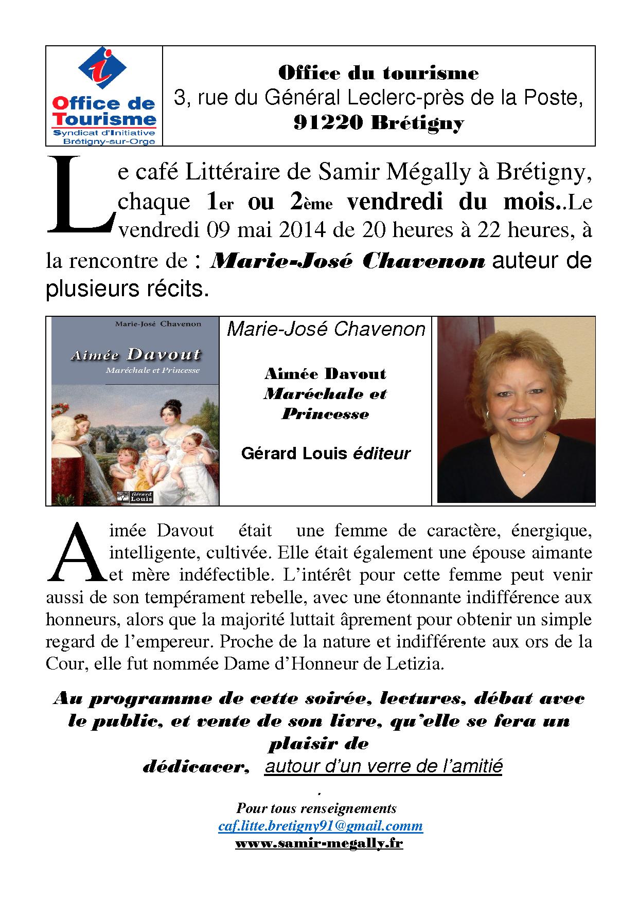 Marie José Chavenon PDF