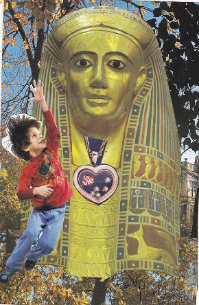 L'Egypte fascinante collage