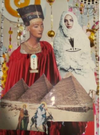 La reine et la Sainte Famille