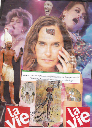 Le gardien égyptien
