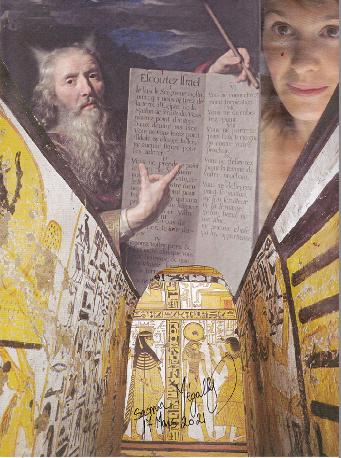 Le Prophète Moïse presentant les tables de la loi