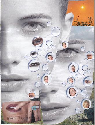 Des visages optomistes